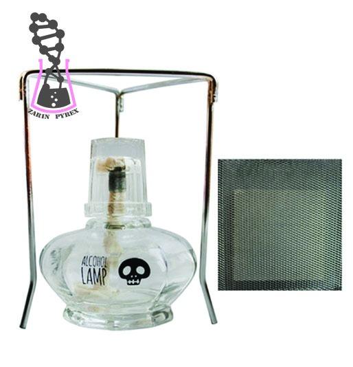 چراغ الکلی CRANIUM به همراه سه پایه و توری نسوز